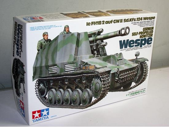 Tamiya German Self-Pro.Howitzer Wespe Scale 1/35 35200