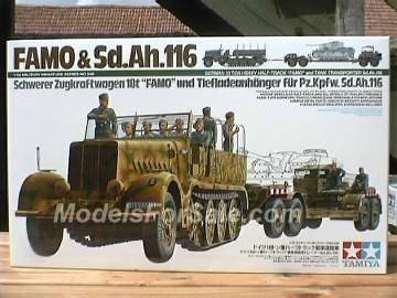 Tamiya - FAMO and Tank Transporter Scale 1/35 #35246