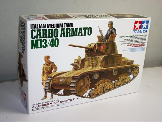 Tamiya Italian Carro Armato M13/40 Medium Tank Scale 1/35 35296
