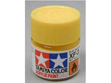Tamiya Acrylic Mini XF3 Flat Yellow Scale 10ml 81703