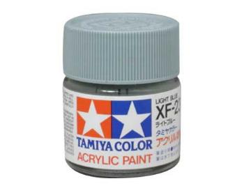 Tamiya Acrylic Mini XF23 Light Blue Scale 10ml 81723