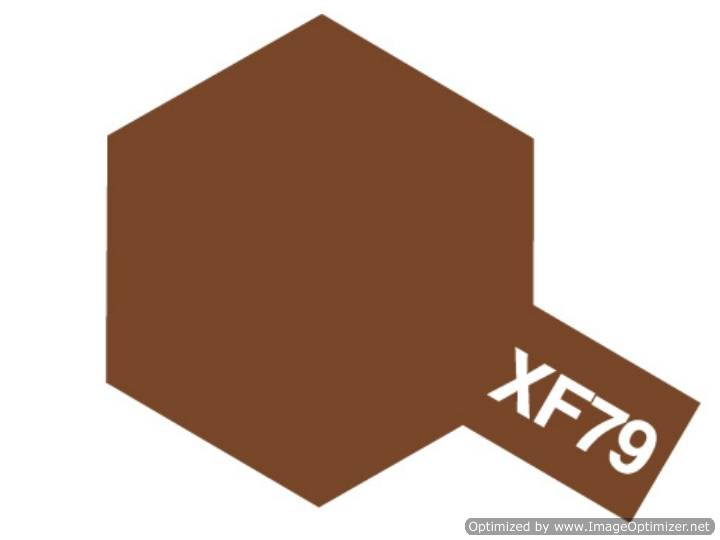 Tamiya Acrylic Mini XF79 Lino Deck Brown Scale 10ml 81779