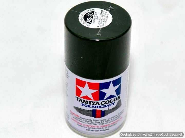 Tamiya AS-30 Dark Green 2 - Aerosol Scale 100ML 86530
