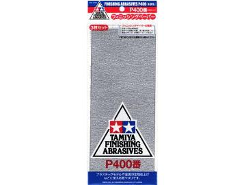 Tamiya Finishing Abrasives P400 87054