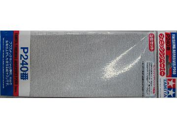 Tamiya Finishing Abrasive P240 - 3pcs Scale na 87093