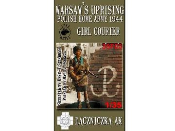 Toro Girl Courier in Warsaw Uprising 1944 1/35 35F03
