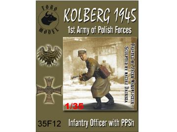 Toro Infantry officer with PPSh - Kolberg 1945 Scale 1/35 35F12