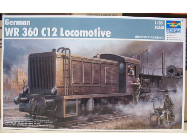 Trumpeter WR360 C12 Locomotive Scale 1/35 00216