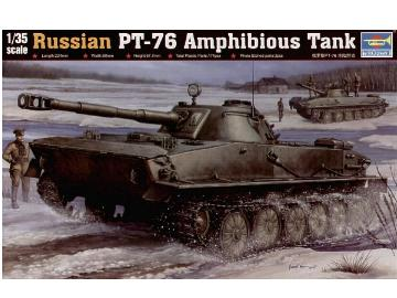 Trumpeter Russian PT-76 Light Amphibious Tank Scale 1/35 00380