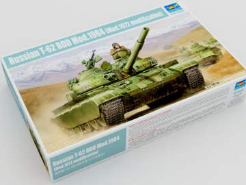 Trumpeter Russian T-62 BDD Mod.1984 (Mod.1972 modification) Scale 1/35 01554
