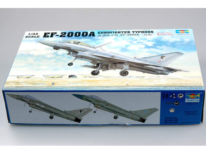 Trumpeter Eurofighter EF-2000 Typhoon Single Seat Scale 1/32 02278