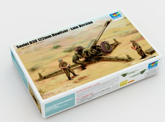 Trumpeter Soviet D-30 122mm Howitzer - Late Version 1/35 02329