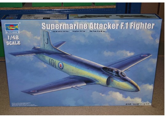 Trumpeter Supermarine Attacker F1 Scale 1/48 02866