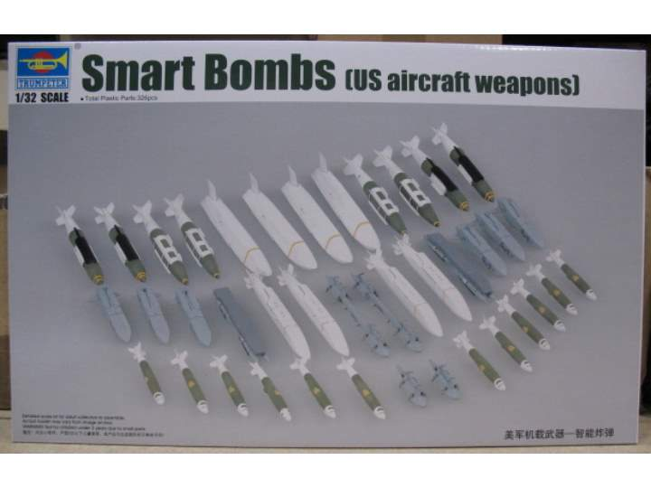 Trumpeter US Aircraft Smart Bombs Scale 1/32 03305