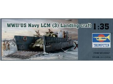 Trumpeter WWII US Navy LCM-3 Landing craft Scale 1/35 347