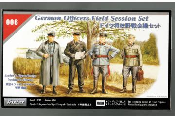Tristar German Officers Field Meeting Scale 1/35 35006