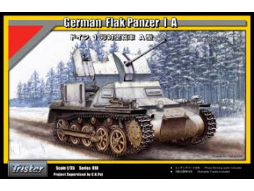Tristar German Flak Panzer I A with ammo trailer Scale 1/35 35019