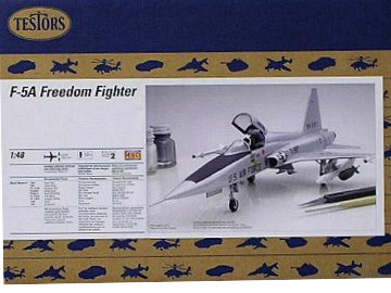 Testors F-5A Freedom Fighter Scale 1/48 7521