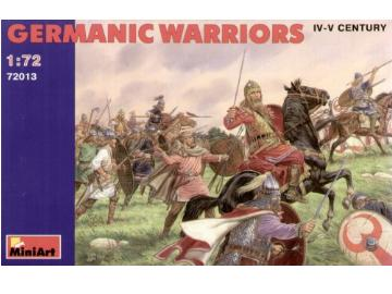Miniart Germanic Warriors iv-v century Scale 1/72 72013