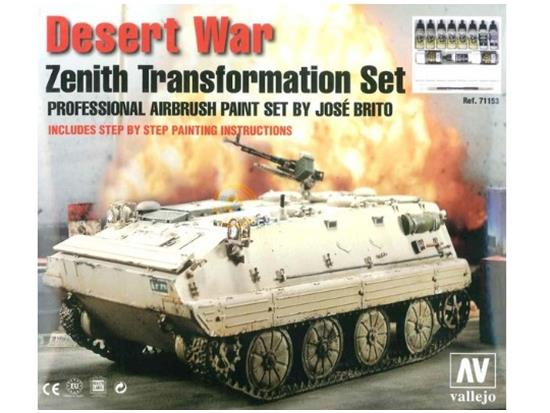 Vallejo - Desert War: Zenith Transformation Set Scale na 71153