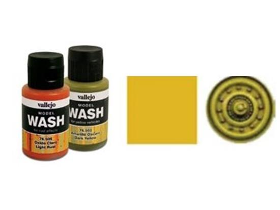 Vallejo - Dark Yellow Wash Scale 35ml 76503