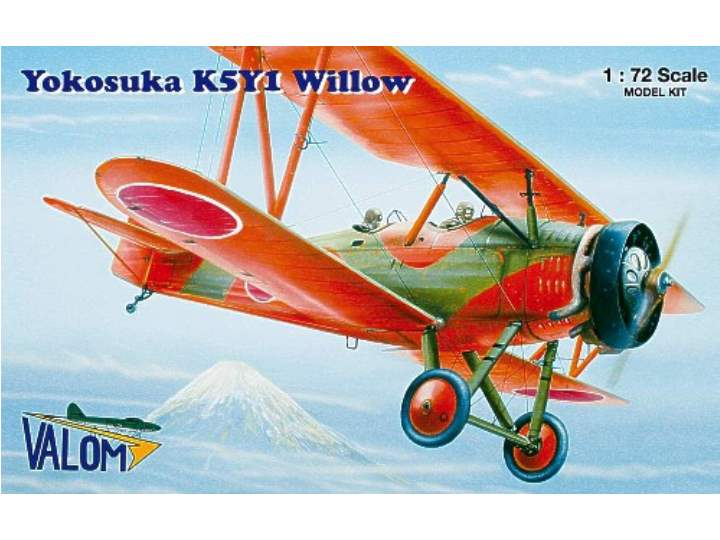 Valom Yokosuka K5Y1 Willow Scale 1/72 72048