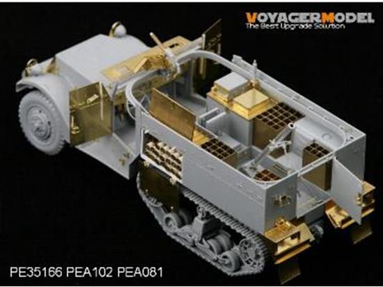 Voyager Photo Etched set for 1/35 WWII M4 81mm Mortar Carrier (For DRAGON 6361) Scale 1/35 PE35166