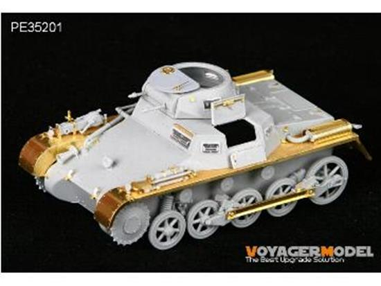 Voyager Photoetch Set For Panzer I Ausf A Early Version (For DRAGON 6289) Scale 1/35 PE35201