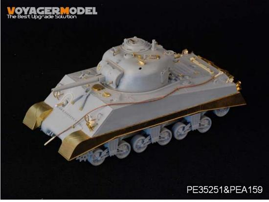Voyager Photoetch Set For WWII USMC M4A2 Mid Tank Late Version PTO (For DRAGON 6462) 1/35 PE35251