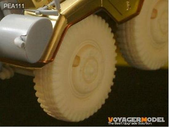 Voyager 1/35 Road Wheels for Sd.Kfz.234 Pattern 2 (For DRAGON) NEW Scale 1/35 PEA111