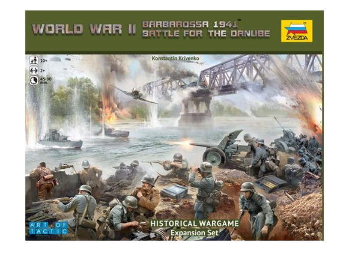 Zvezda Battle For The Danube, Wargame Expansion Set Scale 1/72-1/100 6177