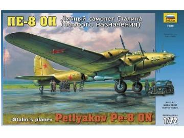 Zvezda Petlyakov PE-8 ON STALIN�S PLANE Scale 1/72 7280