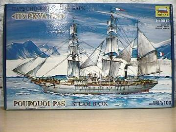 Zvezda Pourquoi Pas - Sailing Ship Scale 1/100 9012