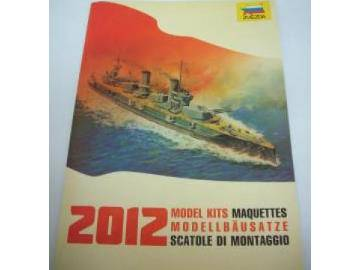 Zvezda 2012 Catalogue Scale na CAT2012