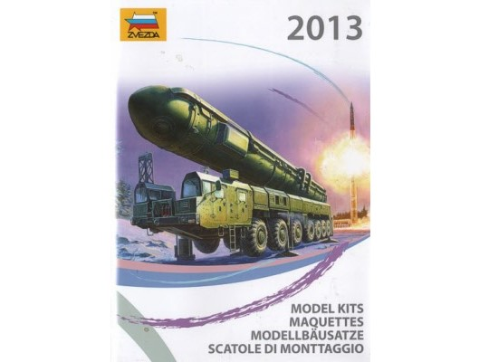 Zvezda - 2013 Catalogue Scale na CAT2013