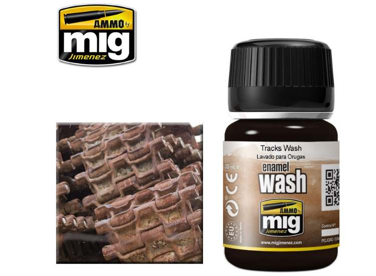 Ammo Mig 35ml 1002 Tracks Wash - Enamel