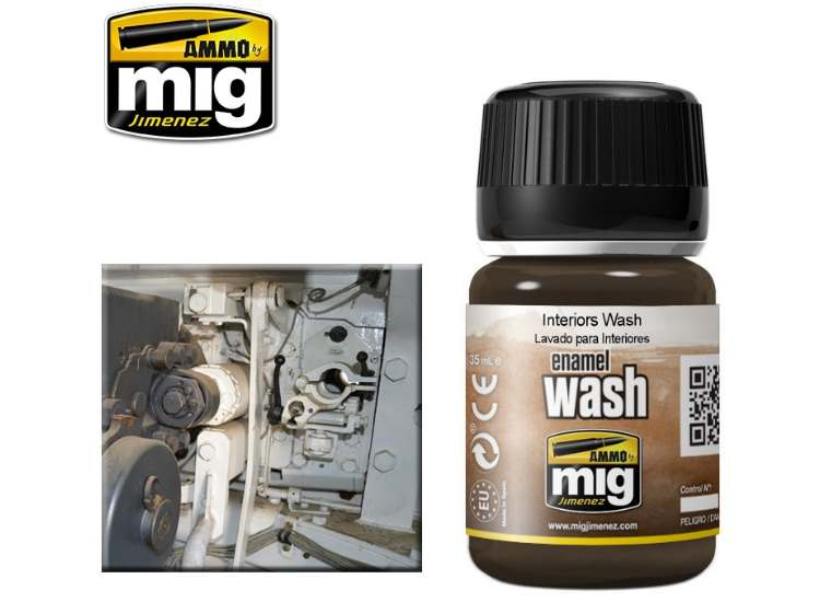 Ammo Mig 35ml 1003 Interiors Wash