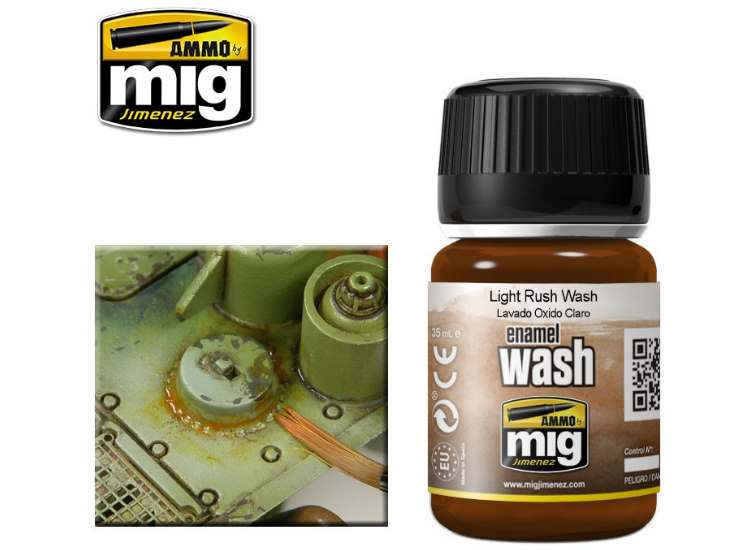 Ammo Mig 35ml 1004 Light Rust Wash