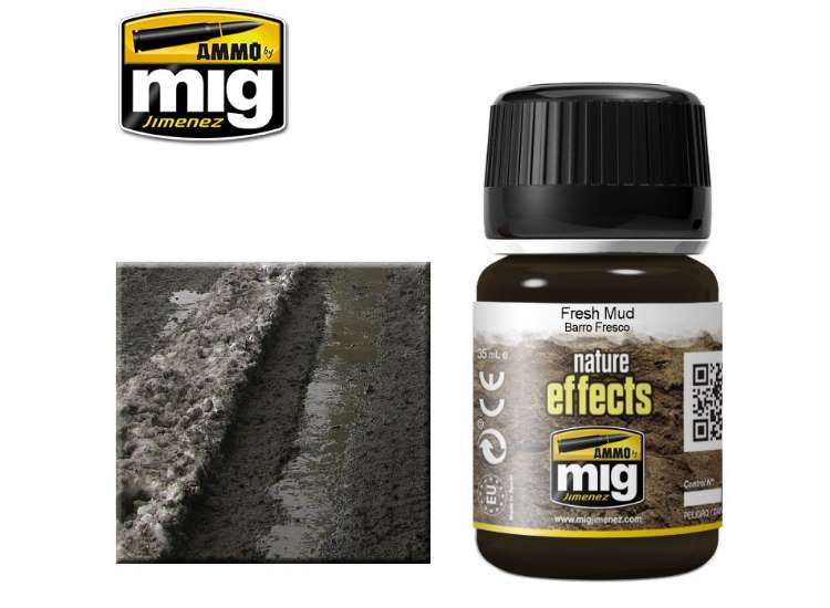 Ammo Mig 35ml 1402 Fresh Mud Effects - Enamel