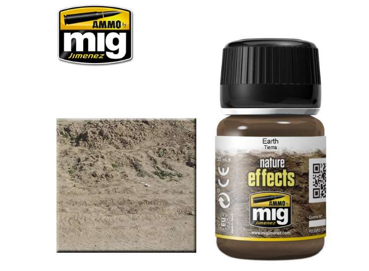 Ammo Mig 35ml 1403 Earth Effects - Enamel