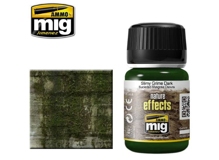 Ammo Mig 35ml 1410 Slimy Grime Dark Effects - Enamel