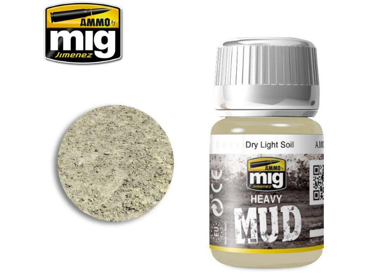 Ammo Mig 35ml 1700 Enamel Mud Effects - Dry Light Soil