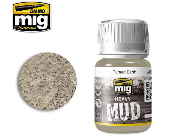 Enamel Mud Effects - Turned Earth