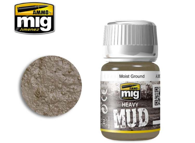 Ammo Mig 35ml 1703 Enamel Mud Effects - Moist Ground