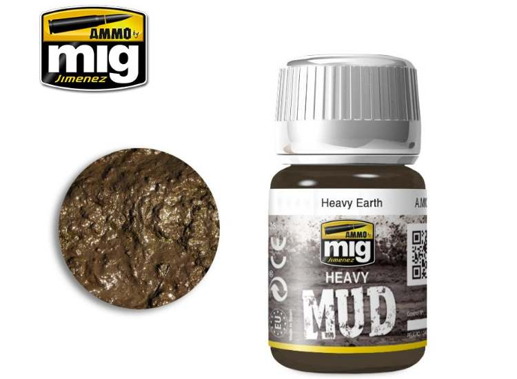 Enamel Mud Effects - Heavy Earth