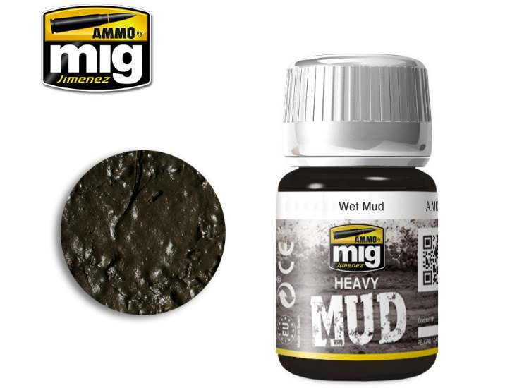Ammo Mig 35ml 1705 Enamel Mud Effects - Wet Mud