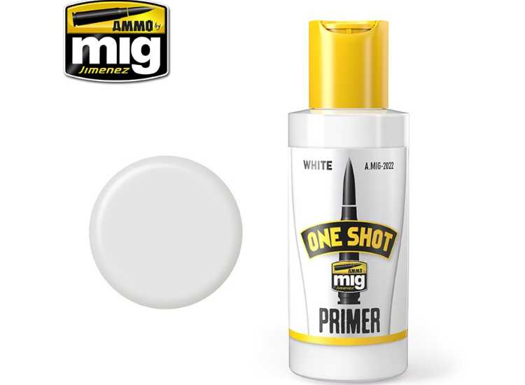 One Shot Acrylic Primer - White