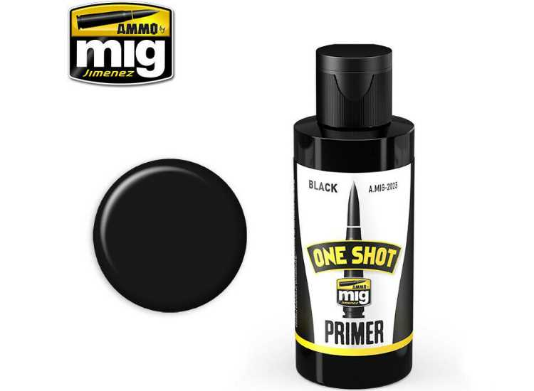 One Shot Acrylic Primer - Black