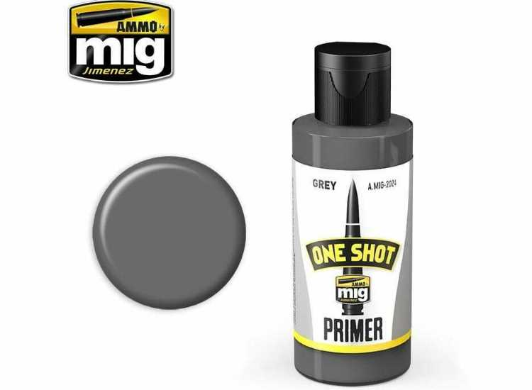 One Shot Acrylic Primer - Grey