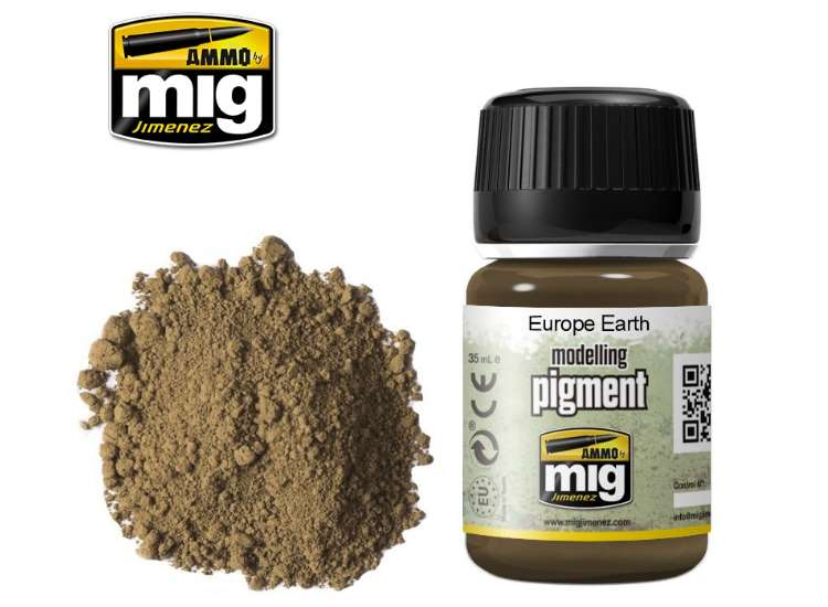 Ammo Mig Pigments - Europe Earth